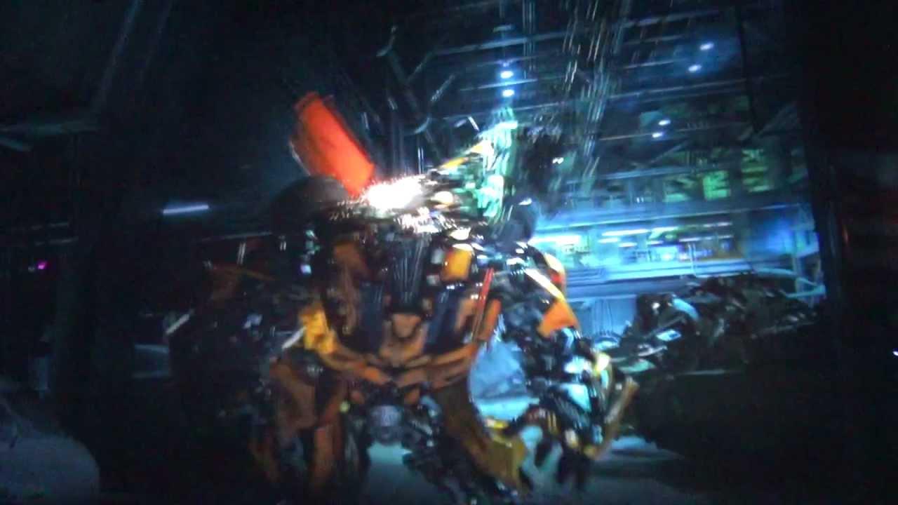 Transformers Ride at Universal Studios Hollywood - YouTube  Transformers Ri...