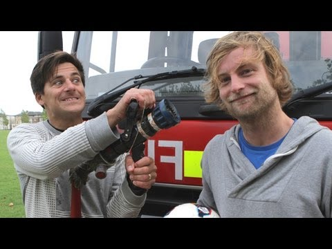 Under Armour Hoodie Gets Fire Engine Test | Kit Ep3