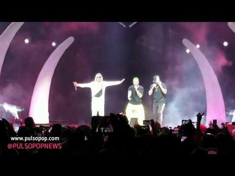 "J BALVIN, WISIN Y YANDEL Cantan ""Peligrosa"" | Vibras Tour"
