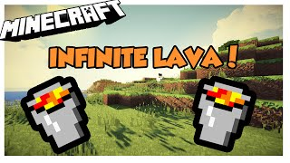 How to make an infinite Lava source in Minecraft 1.8/1.9