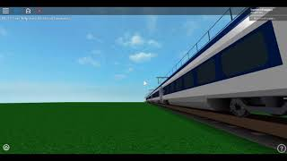 Roblox having a look outside of the New Class 374 E320 Eurostar