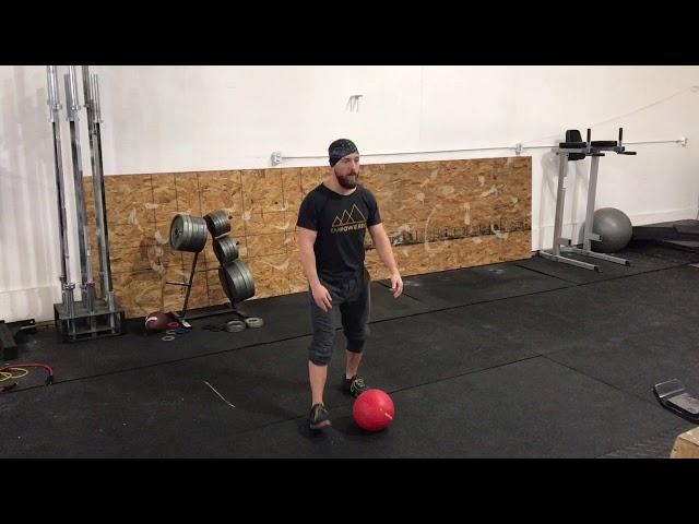 Medball Ground to Over Shoulder