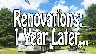 one year later bus renovation recap our 5 favorite upgrades