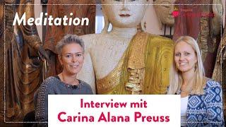 Mein Interview zu Meditation mit Carina Alana Preuss