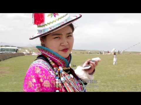 Yugur Girl 裕固族女孩 【Looking China 看中国】