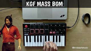KGF MASS BGM | Salaam Rocky Bhai | Yash (Revibe by krisbeats)