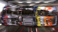 All trucks in 2 minutes - Euro Truck Simulator 2 🚛