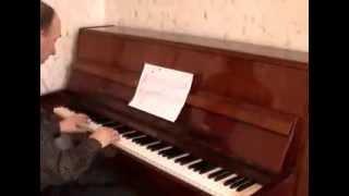 Урок пианино № 2. Запись нот