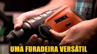 Martelete SDS Plus a bateria 12V Bivolt - H3 - WX382.3 - WORX