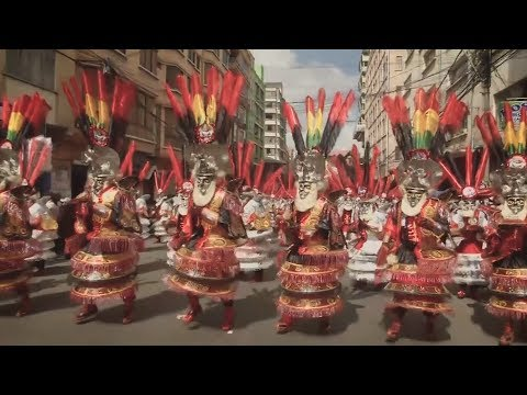"""Festival of Devotion"" is a Bolivian power parade"