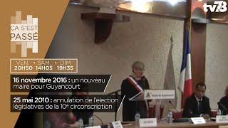 Ça s'est passé… nouveau maire à Guyancourt en 2016 et élection législative en 2010