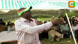 Ruto 'Sells' UDM in Malindi