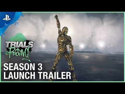 Trials Rising - Welcome to the Future: Season 3 Trailer   PS4