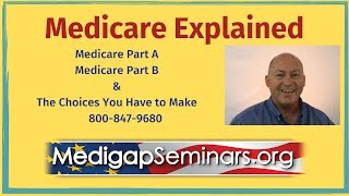 Medicare Explained 2021  Medicare Part B & Medicare Part A (and Supplements)