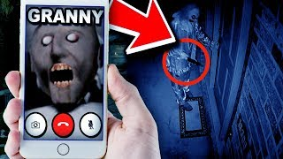DO NOT call Granny or this will happen... (CREEPY GRANNY GAME)