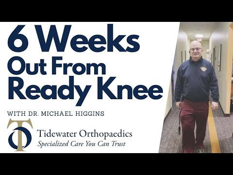 6 Weeks Out From Ready Knee with Dr. Michael Higgins