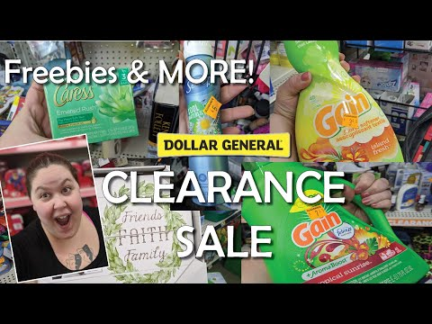 Freebies & MORE - Dollar General CLEARANCE Sale Items!!