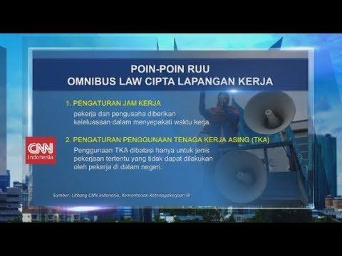 Ini Poin Poin Ruu Omnibus Law Cipta Lapangan Kerja Youtube