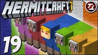Super Ultra Mega Sheep Farm! - Hermitcraft Season 7: #19