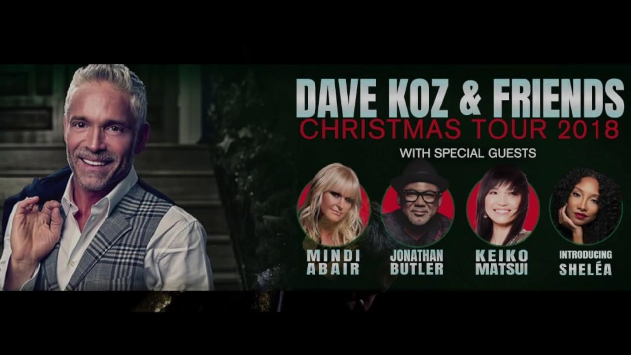 Dave Koz Christmas.Dave Koz Christmas Tour 2018 Long Promo