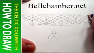 How To Draw Celtic Patterns 73 - Triskele Variant 1, Aberlemno Ii, Celtic Cross Part 2 Of 5