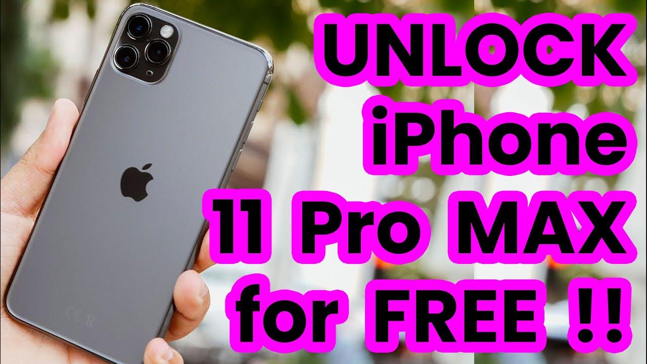 🥇 Unlock iPhone 11 Pro Max AT&T, Sprint, T-Mobile, Cricket, Verizon, Xfinity... - YouTube