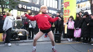 2018.12.29 댄스팀 레드크루(Redcrew)  -  Roller Coaster #홍대앞걷고싶은거리 버스킹#