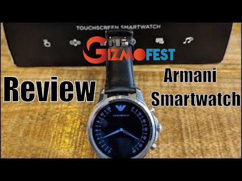 Review : Emporio Armani Digital Smartwatch ART5003 Powered By Fossil