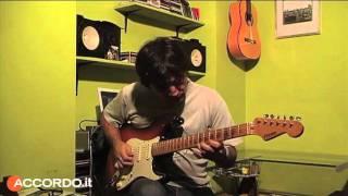 A lezione con Alex Massari - Stevie Ray Vaughan