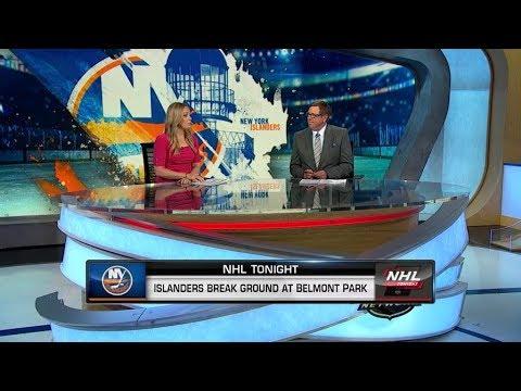 NHL Tonight:  New York Islanders Break Ground At Belmont Park  Sep 23,  2019