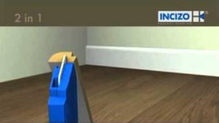 Плинтус под покраску Quick-Step Paintable(Описание и способ монтажа окрашиваемого напольного плинтуса Quick-Step Paintable., 2010-11-25T16:01:12.000Z)
