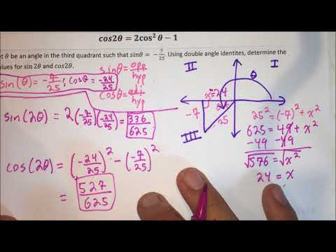 Lesson 5-5 (Day 1) - Double Angle Identities