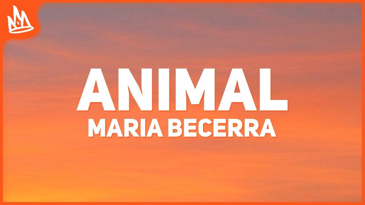 Maria Becerra, Cazzu - Animal (Letra)