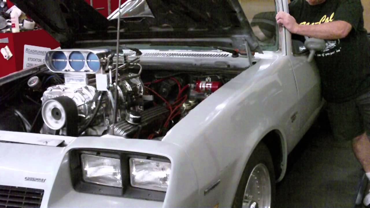 1975 Monza New 383 Blown 671 With Bug Catcher And Holley Efi First