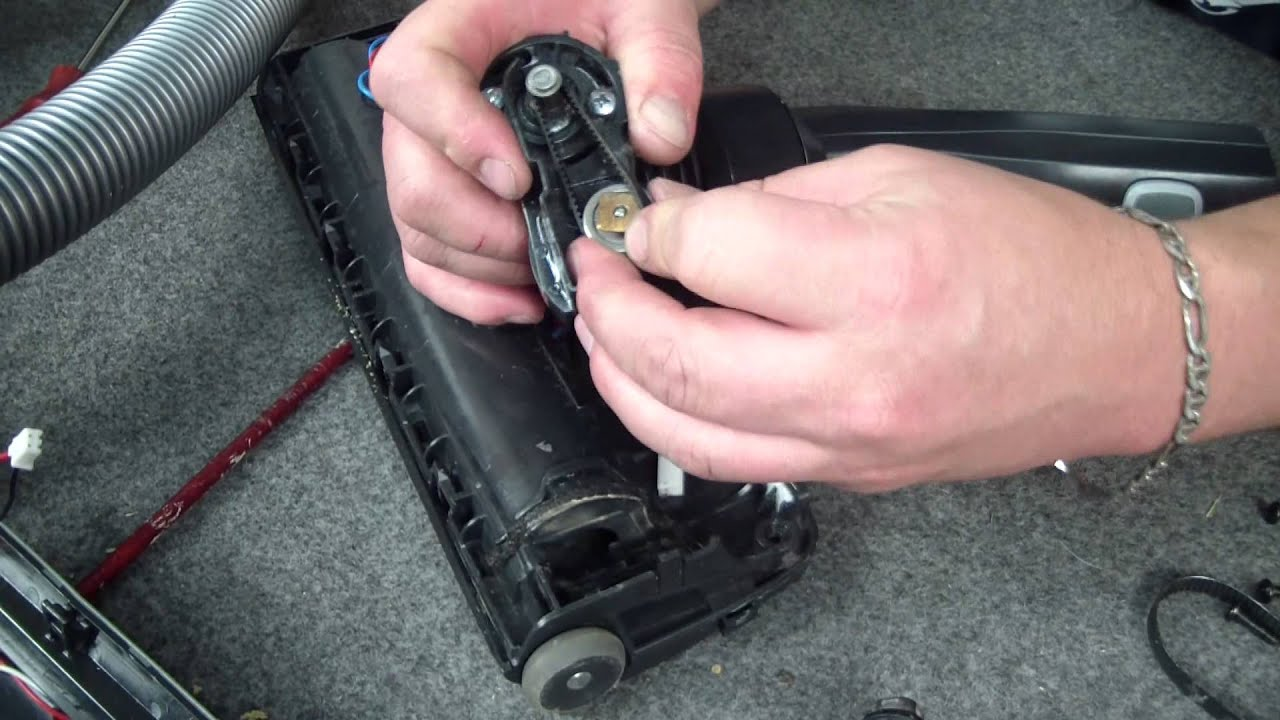 How to change the belt on an electrolux ultra active for Electrolux motor active pickup system