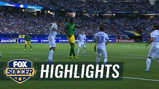 Mattocks gives Jamaica a shocking 1-0 lead - 2015 CONCACAF Gold Cup Highlights