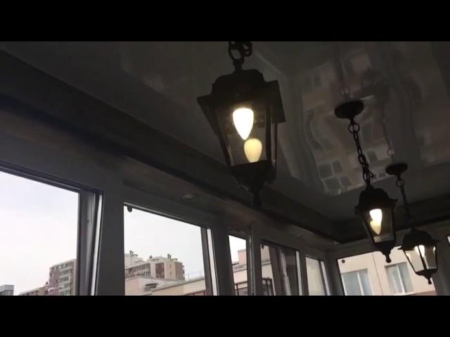 Смотреть видео Спальня на балконе в квартире студии под ключ
