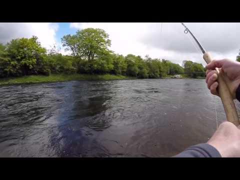 Salmon Fishing - River Tummel June 2015