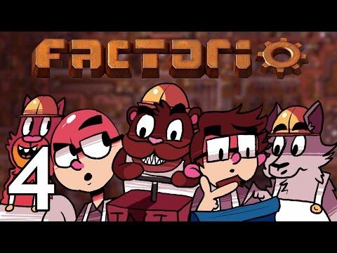 Factorio - NLSS Crew Plays - Episode 4 [Industry]
