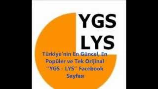 YGS - LYS Facebook Sayfası