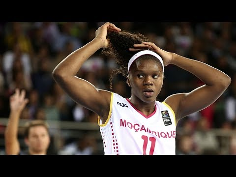 LEIA DONGUE   23 points 10 rebounds vs FERROVIARO MAPUTO   Final African Champions Cup - 19.11.2017