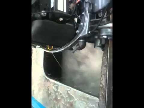 Yamaha F40 2008 - YouTube