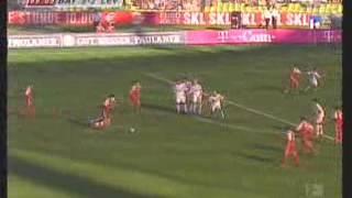 Bayern München - Bayer Leverkusen 2003/2004 gólok