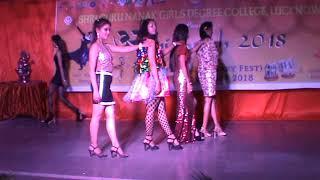 ABHIMUKH 2018 ; Fashion Show by SGNGDC