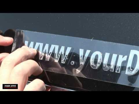 Car Emblems In 3D Chrome Letters