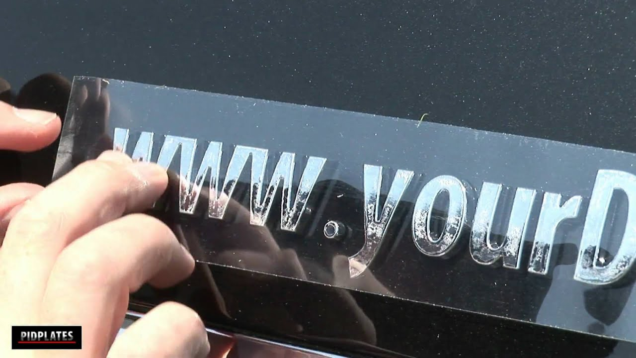 car emblems in 3d chrome letters