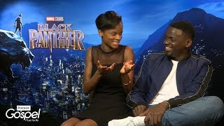 Black Panther cast on faith and parents' reactions to acting careers