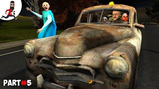 THE STORY of GRANNY ELSA ICE SCREAM 2 MR MEAT EVIL NUN   Funny Animation by Abegi JO  Part 32