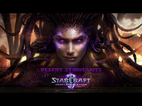 Starcraft Desert Strike HotS 54 (no commentary)