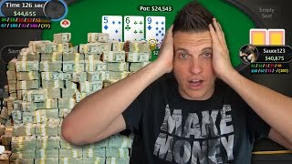 I Played A $25,000 Buy-In Poker Tournament! My BIGGEST Hands...